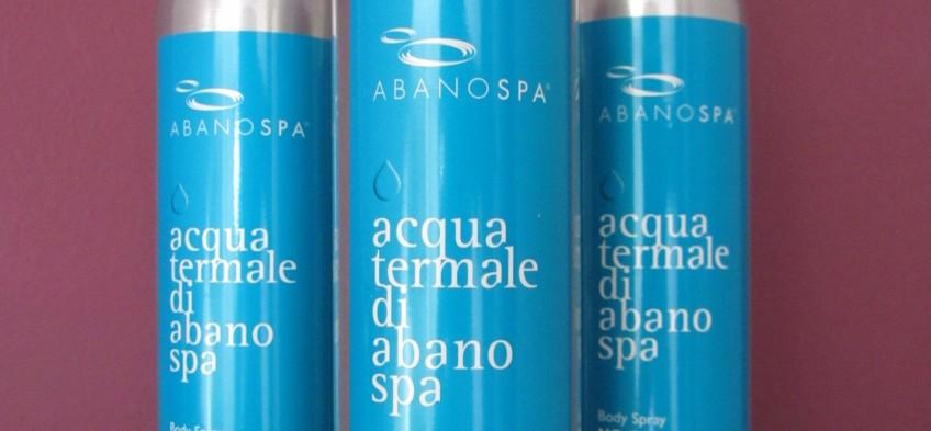 ABANOSPA®温泉水喷雾