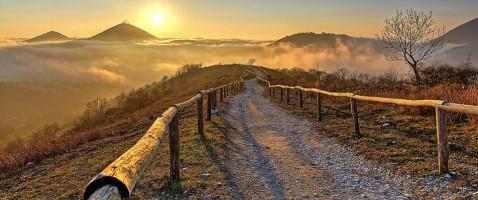Wanderwege der Euganeischen Hügel