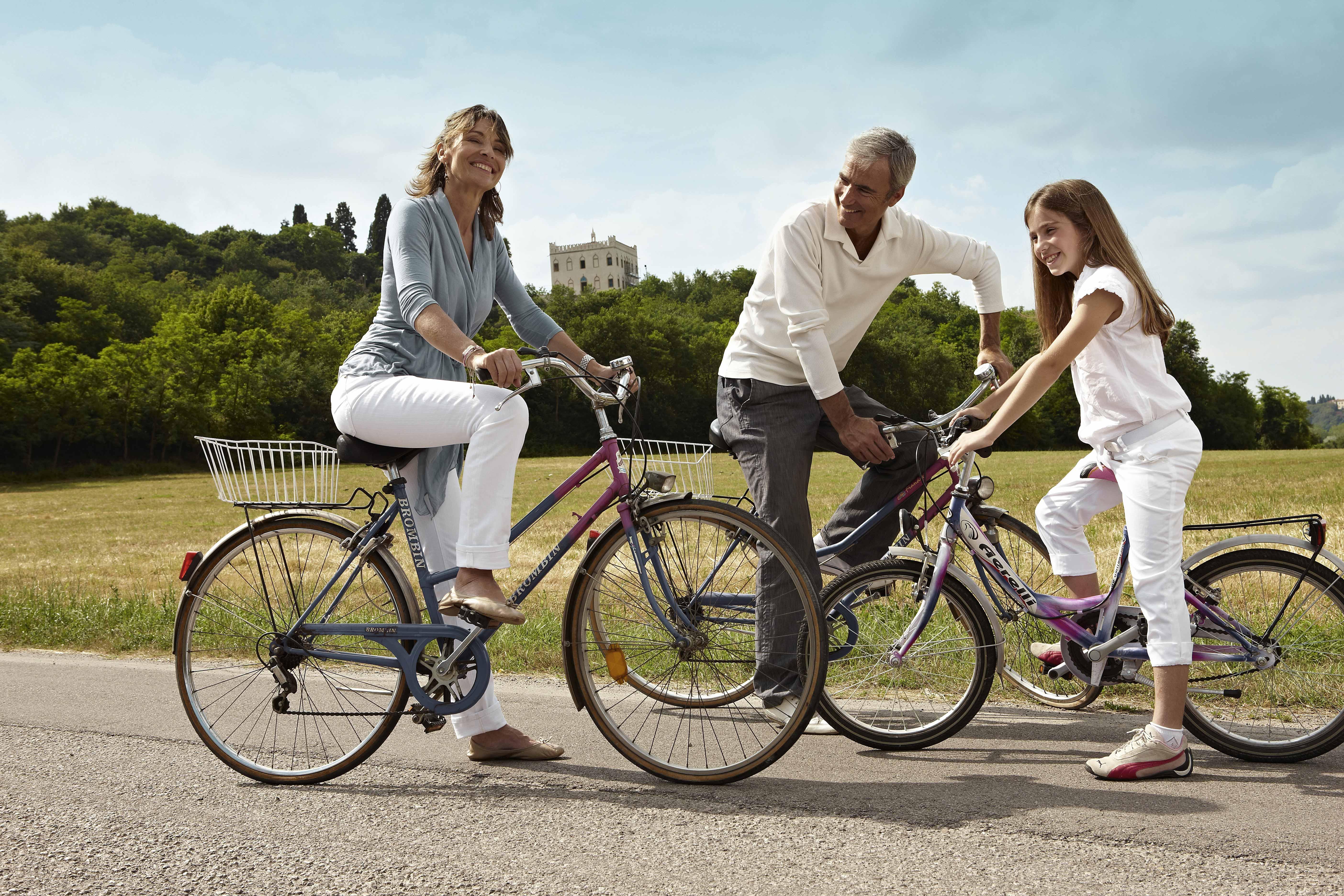 Bicicletta in Famiglia con Bambini ad Abano e Montegrotto Terme