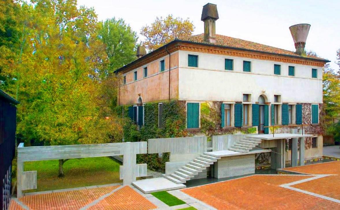 Villa palazzetto a monselice thermae abano montegrotto for Piani di casa di architettura del sud