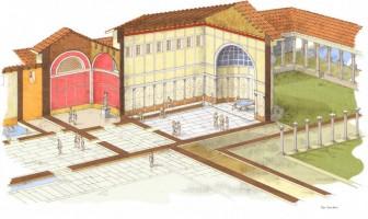 Zone Archéologique de l'Hotel Neroniane de Montegrotto Terme