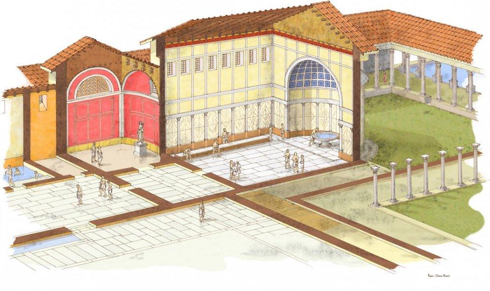 Area archeologica dell 39 hotel neroniane a montegrotto terme for Abano terme piscine termali aperte al pubblico