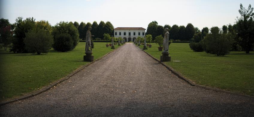 Villa delle Statue a Casalserugo