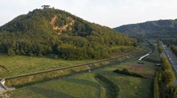 Archäologische Zone von Colle di Berta von Montegrotto Terme