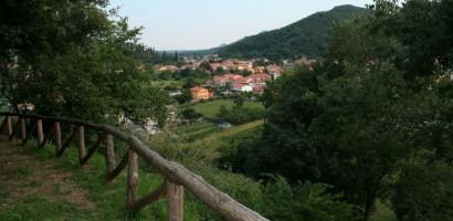 Archäologische Zone von Monte delle Valli von Galzignano Terme