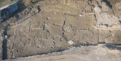 Archäologische Zone von Via Catajo von Montegrotto Terme
