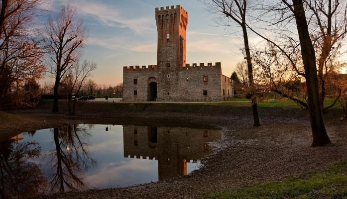 Schloss Sankt Martin von Vaneza von Cervarese Santa Croce