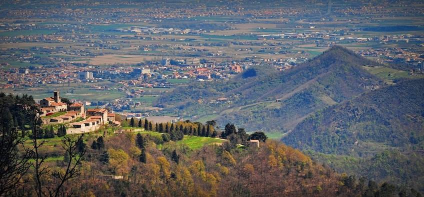 Einsiedelei von Monte Rua von Torreglia