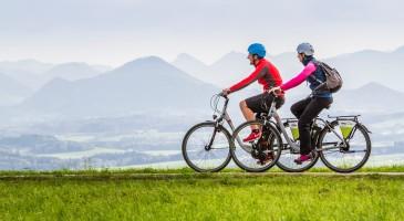 E-Bike in den Euganeischen Hügel